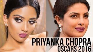 Priyanka Chopra Oscars Inspired Makeup 2016 | irenesarah
