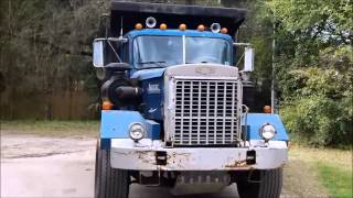 getlinkyoutube.com-1977 Autocar Construction Dump Truck