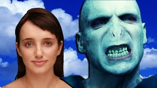 getlinkyoutube.com-EVIE'S REAL NAME & HARRY POTTER QUOTES | Cleverbot Evie