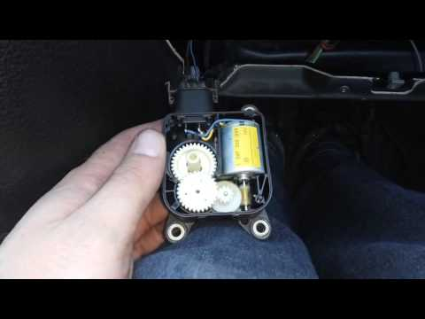 Astra G - мотор заслонки рециркуляции воздуха