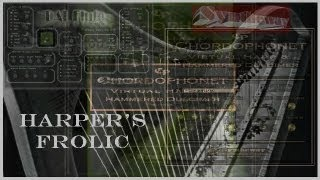 Harper's Frolic - Chordophonet Virtual Harp and Hammered Dulcimer, DAL Flute VST (Win, MacOSX) - YouTube