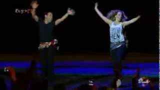 getlinkyoutube.com-رقص تاتیانا همراه محمد خردادیان در برنامه   HAZARAGI     DANSE