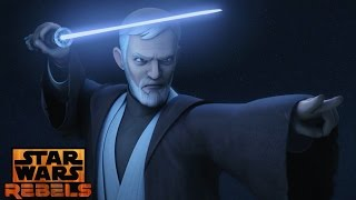getlinkyoutube.com-Star Wars Rebels: Mid Season 3 Trailer Obi Wan Kenobi Vs Maul