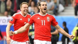 Wales vs Slovakia (2-1) EURO 2016 All Goals Full Highlights - Bale'den Muhteşem Free Kick