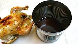 getlinkyoutube.com-Tin Can Chicken Brine - How to Brine and Roast a Chicken - PoorMansGourmet