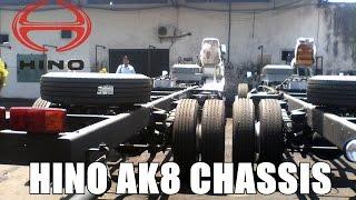 getlinkyoutube.com-Hino AK8 bus Chassis at Harapan Jaya Garage