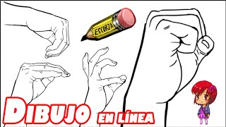 getlinkyoutube.com-Dibuja diez manos en menos de diez minutos
