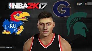 getlinkyoutube.com-BEST FACESCAN YET! COLLEGE DECISION & GAMEPLAY- NBA 2K17 MyCareer The Prelude
