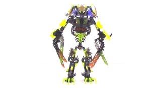 getlinkyoutube.com-Lego Bionicle Review: Doomarak Combiner (Umarak + Beasts)