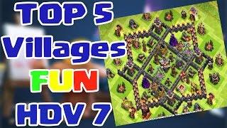getlinkyoutube.com-[TOP 5] Villages ★ FUN ★ hdv 7
