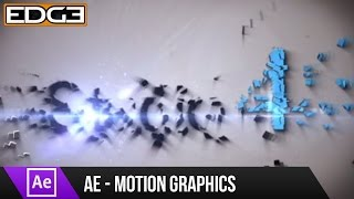 getlinkyoutube.com-After Effects Tutorial - Shatter Motion Graphics Effect HD
