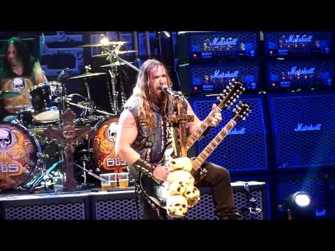 Black Label Society 'Blessed Hellride' live at La Cigale, Paris France - 25/02/2011