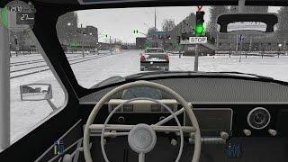 getlinkyoutube.com-City Car Driving - GAZ-21