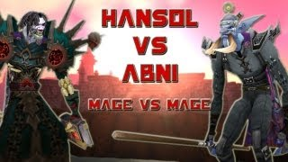 getlinkyoutube.com-Fire vs Arcane (Hansol vs Abni) Mage Duels