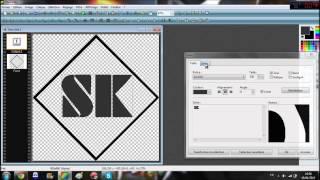 getlinkyoutube.com-[TUTO] Faire un logo avec Photofiltre 7 [HD] [FR]