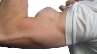 "getlinkyoutube.com-Worlds Most Peaked Biceps (""Mt. Everceps"")"