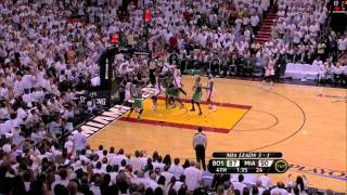 getlinkyoutube.com-Last 4 Minutes Game 5 Celtics at Heat - 2011 Eastern Conference Semi-Finals