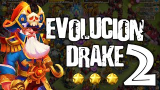 getlinkyoutube.com-Castillo Furioso: Pirata Drake 2nd Evolucion 9 Estrellas