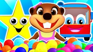 "getlinkyoutube.com-""Baby Star"" Colors for Children to Learn with Songs, Shapes, ABCs & Nursery Rhymes by Busy Beavers"