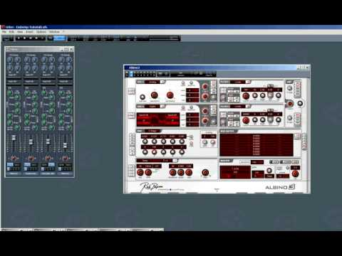 How to create a dubstep wobble bassline with a vst- plug in (Albino 3)