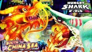 getlinkyoutube.com-Hungry Shark World - New South China Sea Update (Zombie)