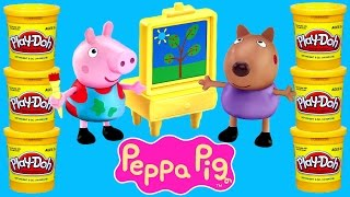 getlinkyoutube.com-PEPPA PIG Play Doh Episodes ★ Peppapig Toy Videos 2015 Plastilina DCTC