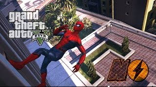 getlinkyoutube.com-SPIDER-MAN VS HULK - Spider-Man Mod - GTA V Mods #2 [PT-BR]
