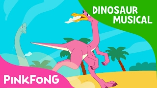 The Great Dino Race | Dinosaur Musical | Pinkfong Songs for Children