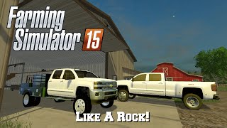 getlinkyoutube.com-Farming Simulator 15: Mod Spotlight #75: Like A Rock!