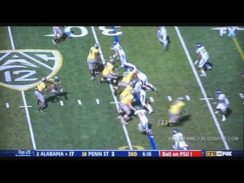 De'Anthony Thomas 69 yd. reception vs Nevada for TD