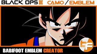 getlinkyoutube.com-Black Ops 3 Emblem Tutorial #026 - Son Goku 2 #Babifoot