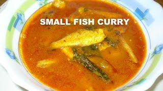 getlinkyoutube.com-Smelt Fish Curry || Small Fish Curry Preparation || Chepala Pulusu in Telugu