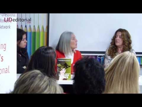 Presentación del libro La zona segura en The Women Station. Escrito por Maribel Maseda