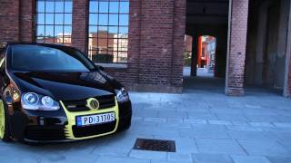 "getlinkyoutube.com-VW Golf Black & Yellow  ""Bastard"""