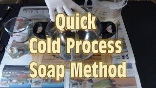 getlinkyoutube.com-Quick Cold Process Soap Making Method