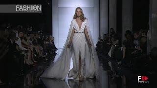 getlinkyoutube.com-ZUHAIR MURAD Full Show Spring Summer 2015 Haute Couture Paris by Fashion Channel