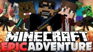 getlinkyoutube.com-Minecraft EPICA AVVENTURA!! KILL THE SPIDERS!! (w/ Jerome and Bajan)