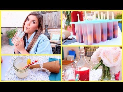 Healthy & Yummy Summer Treat Ideas!