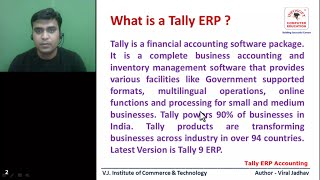 Tally ERP9 Tutorial in Hindi : 1/50 Introduction to Tally