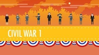 getlinkyoutube.com-The Civil War, Part I: Crash Course US History #20