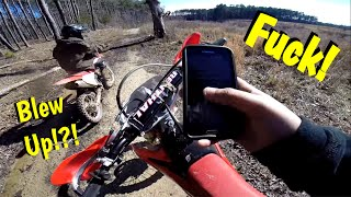 New Dirt Bike Blows Up?!?! EP-28