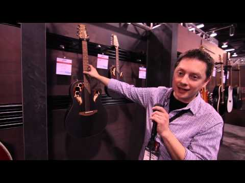 The Music Farm at NAMM 2013 - Ovation USA Product Line