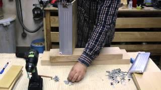 getlinkyoutube.com-Building a router stand