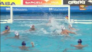 getlinkyoutube.com-Final Primorje Por Recco Final Six 2015 part 2 water polo