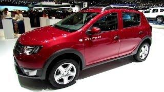 getlinkyoutube.com-2014 Dacia Sandero Stepway - Exterior and Interior Walkaround - 2014 Geneva Motor Show