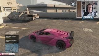 getlinkyoutube.com-$725,000 Car Vs Tank! - Grand Theft Auto 5