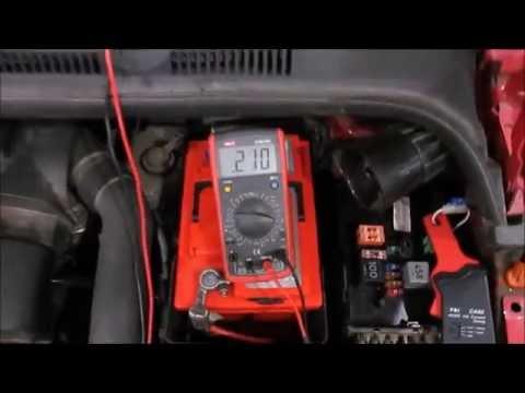 VW Golf Plus 2007, Разряжается аккумулятор