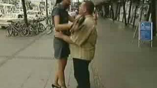 getlinkyoutube.com-Very Hot 196 cm TALL chick with her 177cm husband  -1-