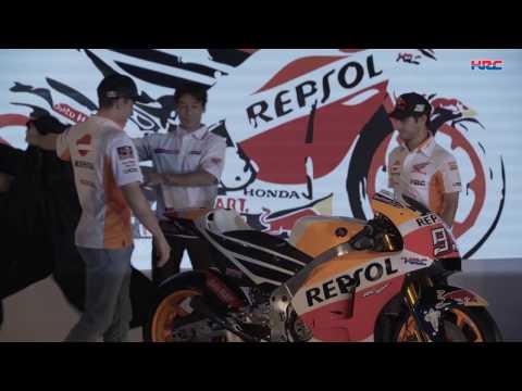 Apresenta��o da equipa Repsol Honda