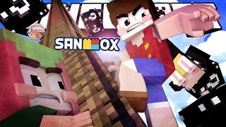 getlinkyoutube.com-사다리를 정복하고 원피스 능력을 얻어라!! [원피스 사다리의 제왕: 블랙 럭키블럭] Minecraft - King of Ladder - [도티]
